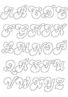 Felt lettering patterns – Graffiti World Creative Lettering, Graffiti Lettering, Graffiti Quotes, Bauhaus Typography, Tattoo Typography, Bold Typography, Typography Poster, Typography Design, Handwritten Typography