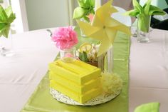 Pin wheel. Yellow  Pink Lemonade themed party  Jacqueline Anne's catering  Book now: 09175281367