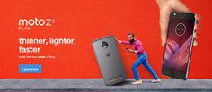 Tech News India: Motorola unveils Moto Z2 Play with new Moto Mods.