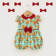 Kathkali Print Baby Romper. #Stylemylo #kids #onlineshopping #kidswear #designerkidswear #rakhi #ethnic #babygirls #babyboys