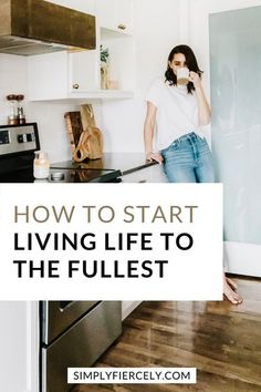 Do you want to live your life to the fullest? Don't settle for just barely surviving when you could be living your best life. Here's how to get started. Slow Living, Mindful Living, Self Development Books, Personal Development, Simplicity In Life, Create Your Own Reality, Healthy Mind And Body, Minimalist Lifestyle, Self Improvement Tips