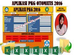 Aplikasi PKG Otomatis 2016 Format Excel