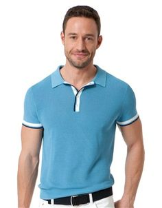 Short-Sleeve Soft Knit Polo