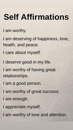 Self Esteem Affirmations, Daily Positive Affirmations, Positive Affirmations Quotes, Morning Affirmations, Affirmation Quotes, Positive Quotes, Affirmations For Love, Affirmations Confidence, Positive Phrases