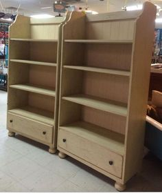 broyhill attic heirlooms bookcases in white stain