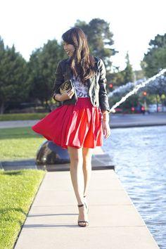 #sushi #skirt #ootd