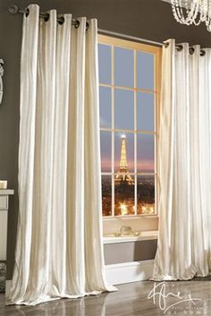 Buy Kylie Iliana Eyelet Curtains from the Next UK online shop Cream Curtains, Blackout Curtains, Drapes Curtains, Kids Curtains, Living Room Drapes, Living Room Windows, Custom Made Curtains, Rustic Curtains, Luxury Bedding Collections