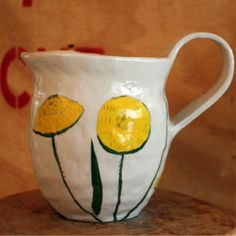 From Africa with Love - Kitchen Dining, Kitchen Decor, Yellow Flowers, Artisan, Africa, Pottery Ideas, Tableware, Handmade, Collection