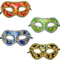 Venetian Gold Leaf Mardi Gras Mask   Wally's Party Factory #MardiGras #mask
