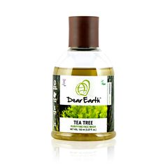 Dear Earth organic Tea Tree face wash is ideal for getting rid of pimples and purifying your skin. Organic pongamia and tea tree oil help your skin naturally get rid of acne and other impurities. Vetiver, basil and lemon essential oils clear out oil and grime, while maintaining the necessary moisture balance to keep your skin soft, clean, and clear of breakouts. Handmade with USDA organic ingredients, raw, and Vegan