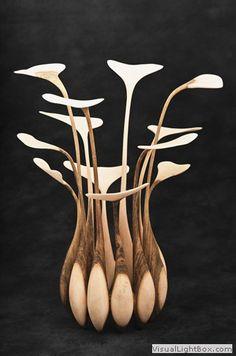 Art'bola - Marcel Tambourin - Tournage et sculpture d'art sur bois