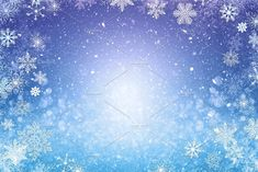 Christmas background with snowflake by Javier Art Photography on @creativemarket