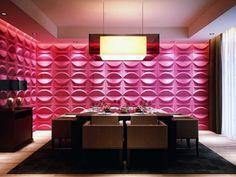Panel tridimensional Modelo Adel - El color rosa mexicano le da vida a los  muebles. 41eb9204363