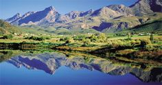 the klein karoo between the swartberg and the langkloo mountain ranges...