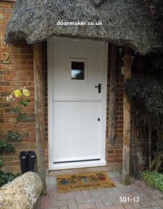 white stable door. All our doors are made to measure to your sizes in the wood / colour of your choice.
