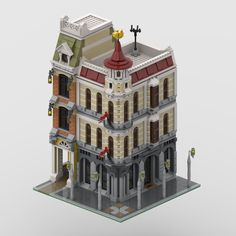 Left Building is a passage; right building is a WIP for now :)