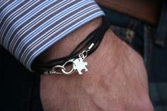 Unisex Autism Puzzle Suede Charm Wrap by ICandyCrystals on Etsy, $20.00