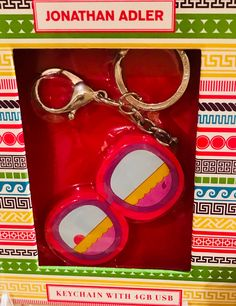 Fun keychain mobile charger