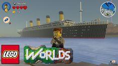 Titanic Papercraft Lego Worlds Titanic Rms Titanic Pinterest Lego Titanic, Rms Titanic, Portal Knight, Legos, Lego Minecraft, Lego Worlds, Wooden Boats, Paper Crafts, Printables