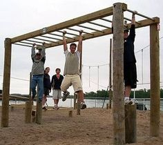 How to Build Monkey Bars thumbnail