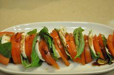 http://irischef.co.il/ סלט פנצנלה - בזיליקום עגבניות ומוצרלו די בפלו