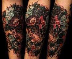 Also by Unlce Allan.  Very Victorian Neo-trad.  Love it!
