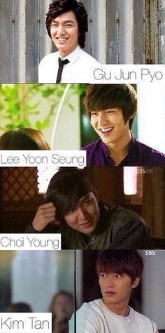 Lee Min Ho...I loved you through them all!!