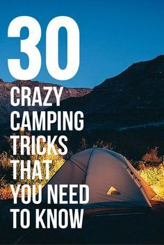 30 crazy camping tips and hacks that you can use on your next trip that will make your life so much easier. For example, did you know that Doritoes make good fire starters? Discover more at Matador Network.