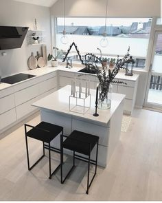 Personalize your home decoration with pretty digital printables. Loft Design, Deco Design, House Design, Living Room Kitchen, Living Room Bedroom, Bedroom Modern, Home Decor Shops, Home Decor Items, Modern Architecture House