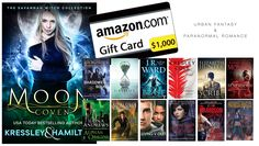 $1000 #Giveaway for #UrbanFantasy and #ParanormalRomance fans! #amreading