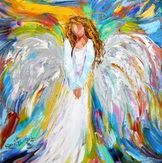 paintings of angels with open arms - Google Search
