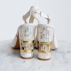 Where to Buy Wedding Shoes in Ireland Silver Wedding Shoes, Wedding Shoes Bride, Bride Shoes, Bridal Alterations, Freya, Block Heels, Me Too Shoes, Pearl, Wedding