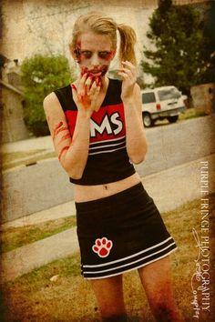 Zombie Cheerleader Girl Costume | The ZomBeatles -- A Hard Day\'s ...