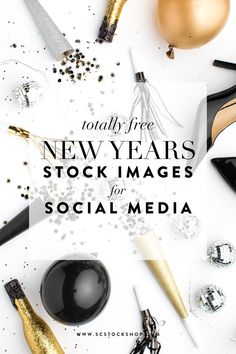 FREE New Year's styled stock photography from the SC Stockshop!