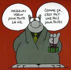 Le Nouvel An ... vu par Philippe Geluck !
