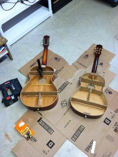 Gutted Guitar Shelves