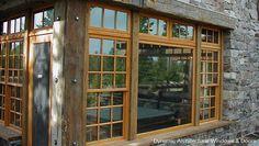 Rustic Double Hung Windows rustic-windows