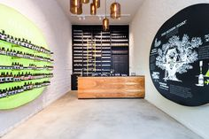 Businessman Thomas Lommel's skincare brand Oliveda has opened its first Flagship Store, designed by Stuttgart-based practice DFROST, in Berlin's Neue Schönhauser Strasse.