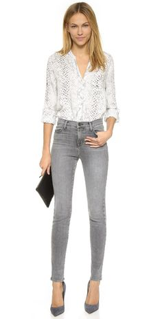 J Brand Maria High Rise Skinny Jeans   SHOPBOP