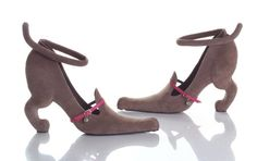 Weener dog heels!