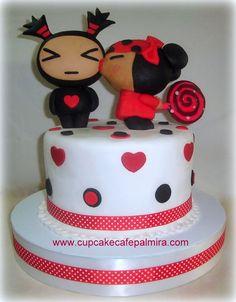 Garu with Pucca Cake: