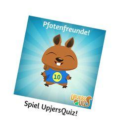 Sei schlau und spiele UpjersQuiz! #HörnchenPower