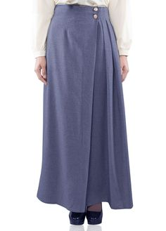 Flaunt yourself with this exclusive pleated skirt. Long maxi skirt, modest and keeping you classy all day long. Made of comfortable soft cotton linen fabric that functioning good in absorbing sweat and keeping you fresh throughout the day. Recommended s
