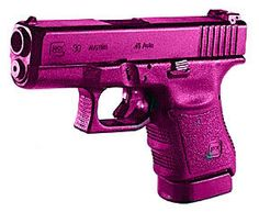 Id could do this color Weapons Guns, Guns And Ammo, Pink Guns, Custom Glock, Custom Guns, Firearms, Handgun, Revolvers, Cool Guns