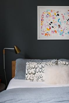 Design Inspiration from Real Homes: Gorgeous Bedrooms to Tempt You Over to the Dark Side | Apartment Therapy