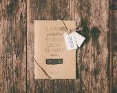 The perfect to start something never arrives. Start Now // Handmade notebook