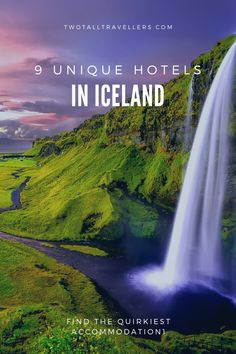 Whatever your Iceland accommodation, you're bound to have a fab time. But if you're looking for something slightly more special, then consider staying in one of (or more, if you're road tripping!) the most unique hotels in Iceland.   Not many people can stay they've stayed in a converted bus, a space pod or a Viking-themed hotel, but those are just some of the cool places to stay in Iceland!  Iceland hotels | Where to stay in Iceland | Best hotels in Iceland | #inspiredbyiceland #icelandtips Iceland Travel Tips, Europe Travel Tips, European Travel, Travel Destinations, Travel Guides, Best Hotels In Iceland, Unique Hotels, Amazing Hotels, Beautiful Hotels