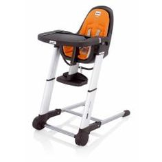 Its modern design combined with its excellent features, make our Zuma Gray High Chair a chic and practical choice. The Zuma includes an additional snack tray that can be washed separately in the dishwasher, as well as a three position reclining backrest which can be used for eating, playing, or dozing.