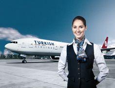 Turkish Airlines wonderful flight attendant uniforms