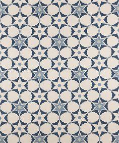 STELLAR AZUL CLARO from the VANDERHURD AZUL COLLECTION. #blue #textiles #handprint